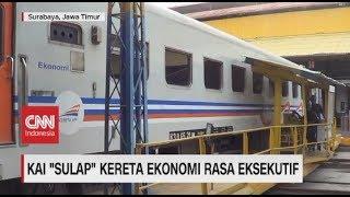 KAI 'Sulap' Kereta Ekonomi Rasa Eksekutif