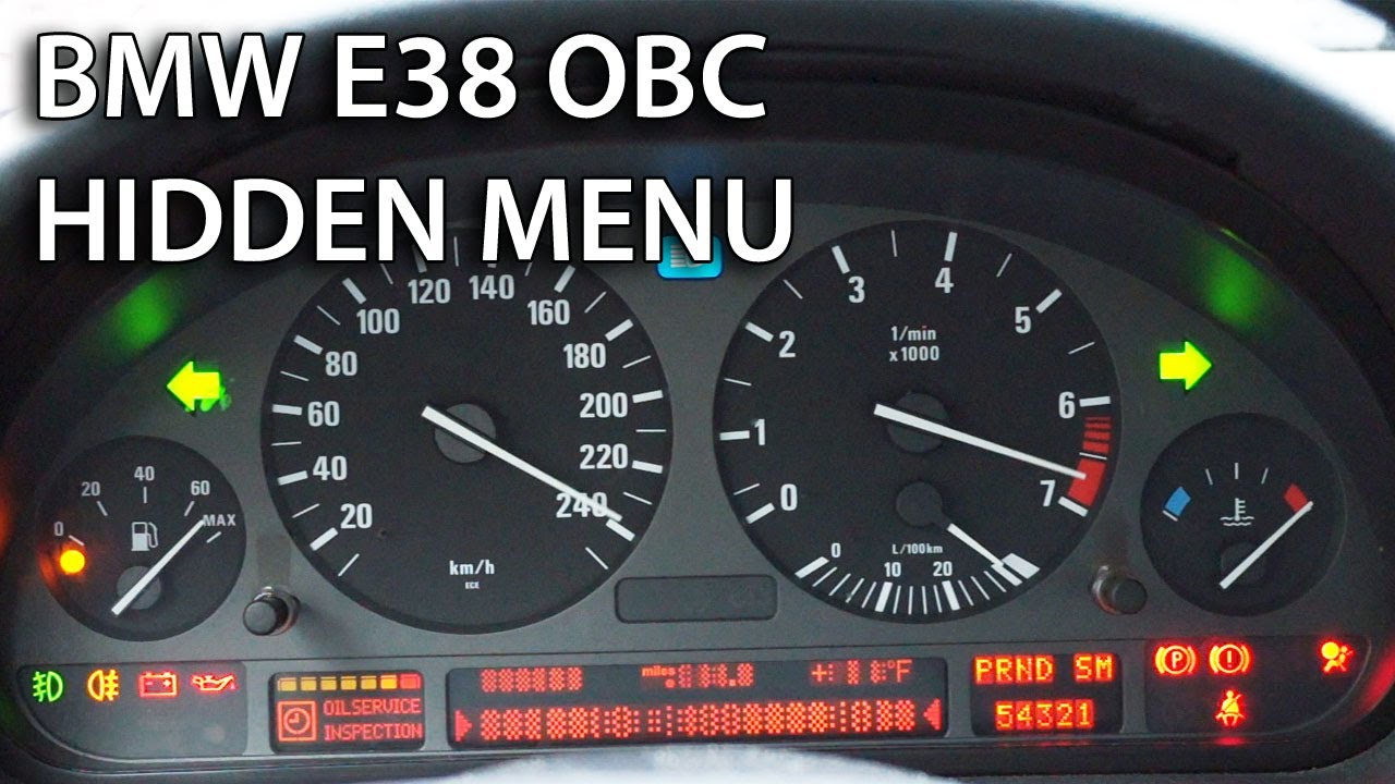 How To Unlock Hidden Menu In Bmw E38 Amp Range Rover Obc On