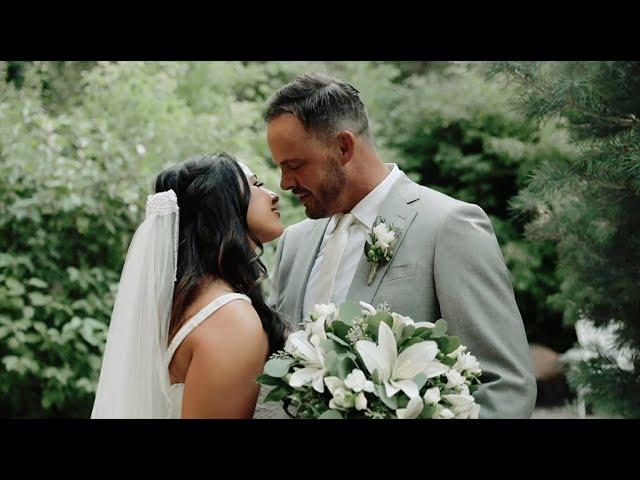 Brittany & Travis | Louland Falls | Utah Wedding