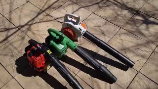 Most powerful hand held blower for Spring cleanups? Stihl vs Hitachi vs Dolmar