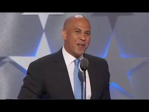 FULL: INCREDIBLE SPEECH! Senator Cory Booker - Democratic National Convention - WOW!