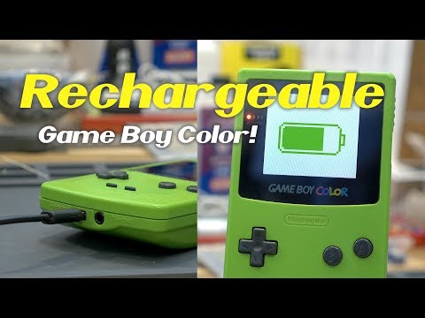 Adding a Rechargeable Battery to your Game Boy Color!