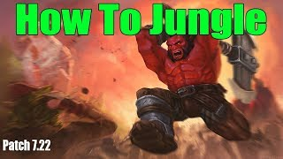 DoTa 2 how To jungle AXE Patch 7.22h