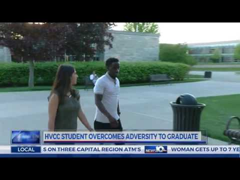 From homeless to graduate: HVCC student prepares to walk across the stage