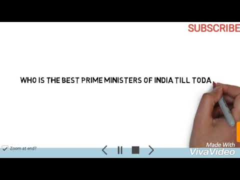 Who is the best prime ministers of India till today?