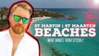 THE BEACHES of ST MAARTEN | ST MARTIN