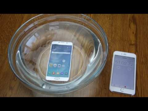 Samsung Galaxy Note 5 WATER TEST! Don't drop your Note 5 in WATER! A Waterproof Test and Review