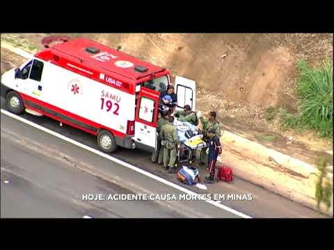Acidente De ônibus Deixa Seis Mortos E 13 Feridos Em Minas Gerais