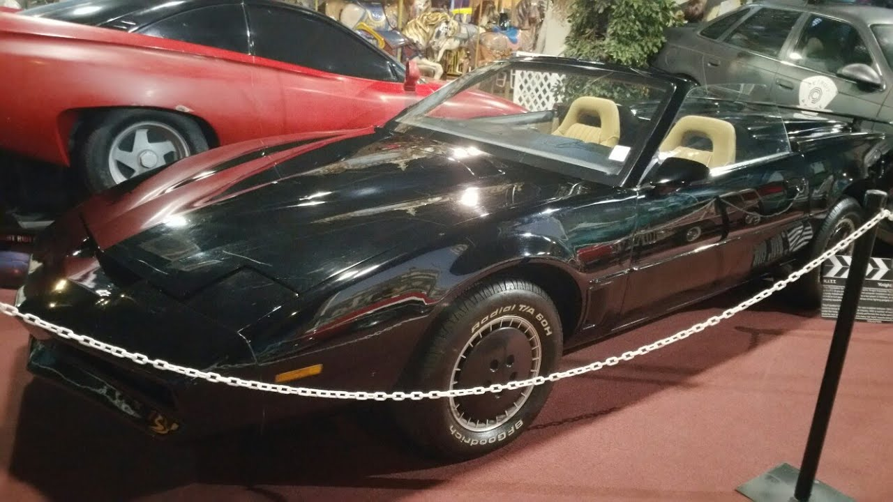 The Real Actual Car From Hit Show Knight Rider