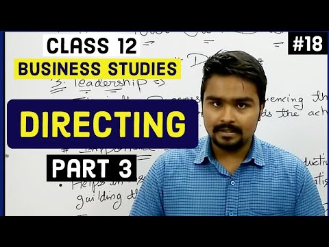 #18, Leadership | Different Styles Of Leadership | Class 12 Business Studies