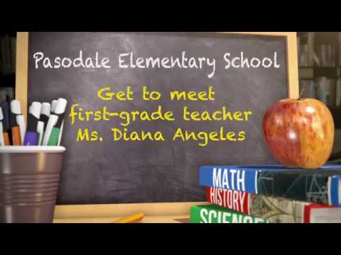Get To Meet Teacher Ms. Diana Angeles from Pasodale Elementary School