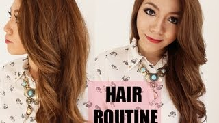 My Hair Routine - Styling and Products