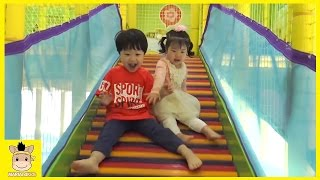 Indoor Playground Kids Cafe Compilation Kids Cafe for Kids and Fun Play | MariAndKids Toys