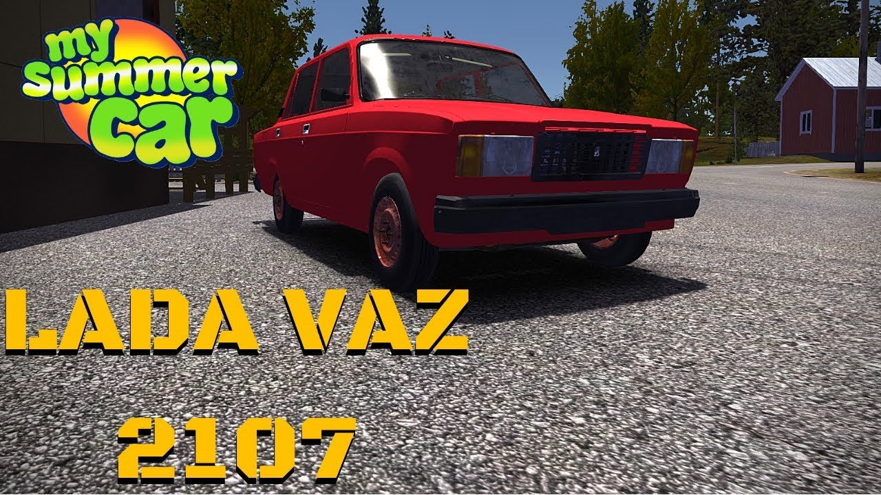 Car Lada Vaz 2107 My Summer Car 128 Mod
