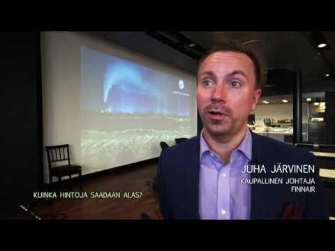 Kaupallinen johtaja Juha Järvinen, Finnair: Lappi on kasvavan kiinnostuksen kohde