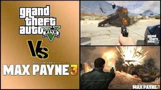 GTA 5 vs Max Payne 3: Car/vehicle Damage/Explosions Graphics Physics Comparison
