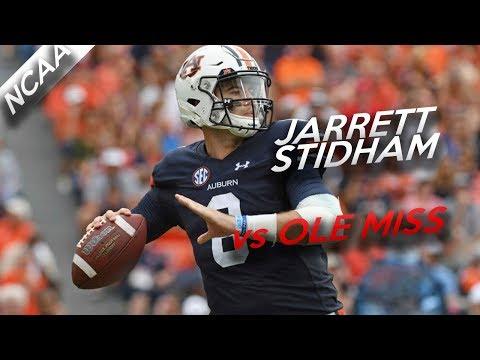 Jarrett Stidham Highlights Vs Ole Miss // 14/21 235 Yards, 2 TDs // 10.7.17