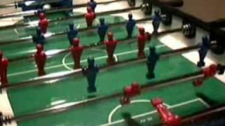 Настольный футбол трюки