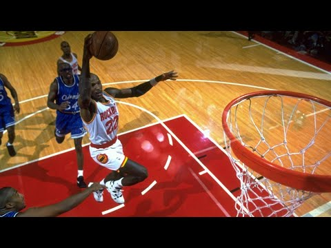 1995 NBA Finals - Game 4 - Orlando Magic vs Houston Rockets