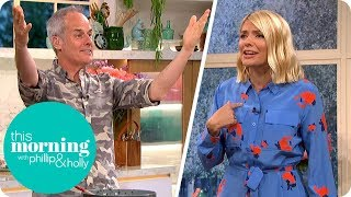 Phil Vickery Outs Holly for Being Hungover  This Morning