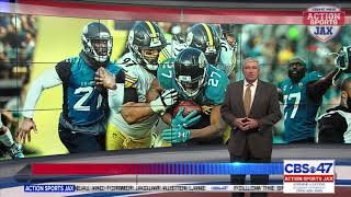 The jacksonville jaguars waive former number four overall pick running back leonard fournette on monday. head coach doug marrone explains why and team action...