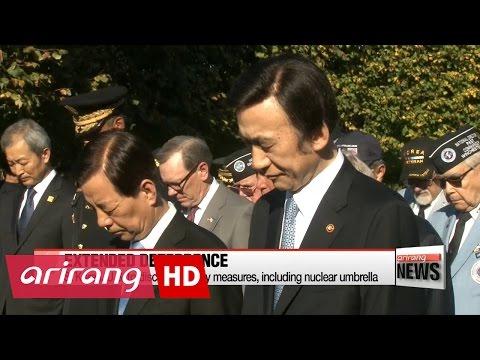 S. Korea, U.S. to discuss security measures, including nuclear umbrella
