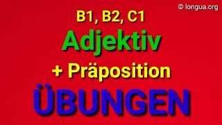 Übungen B1, B2, C1 - Nomen und Präpositionen Kasus - Aufgaben - German grammar - Prepositions