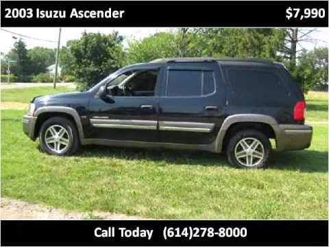2003 isuzu ascender used cars columbus oh - youtube