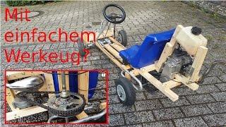 Kettcar mit Motor selber bauen 50km/h+  |1080p |Ger