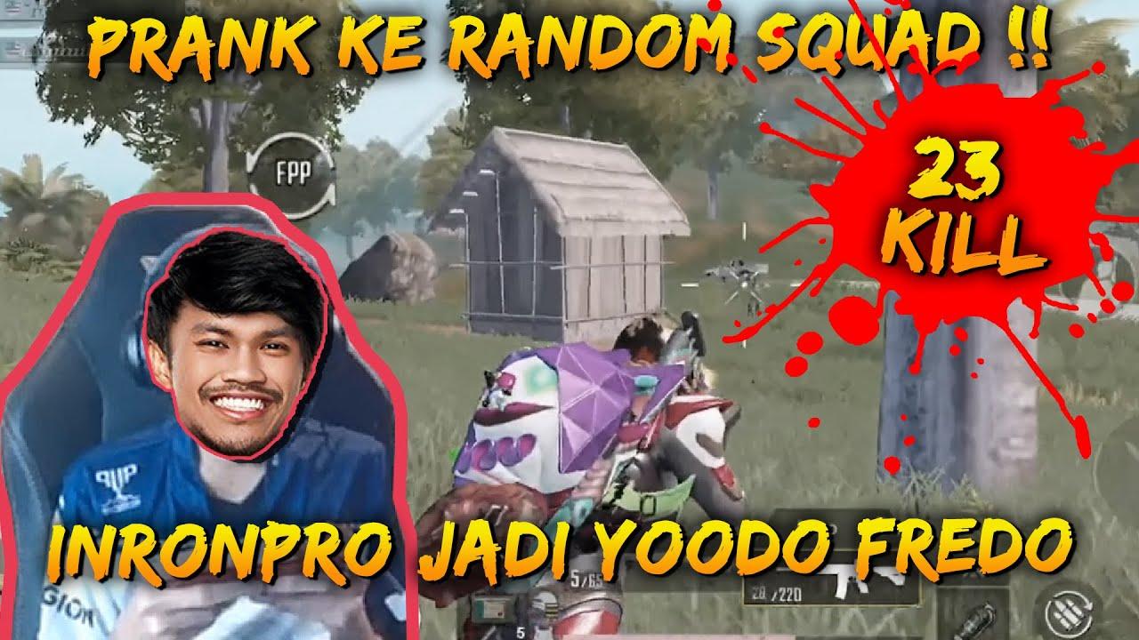 Berpura-Pura Jadi Fredo Ke Random Squad !! | Ironpro Gameplay | PUBG Mobile Malaysia