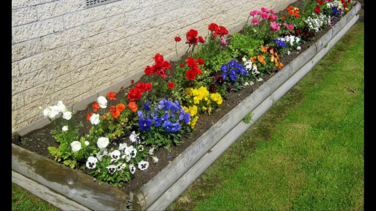 20 Best Small Flower Garden Ideas 2019 - YouTube