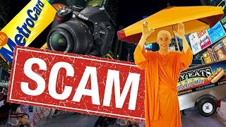 What NOT to do in New York- Worst Scams/Rip-Offs To Avoid For Tourists ! (Part 2)