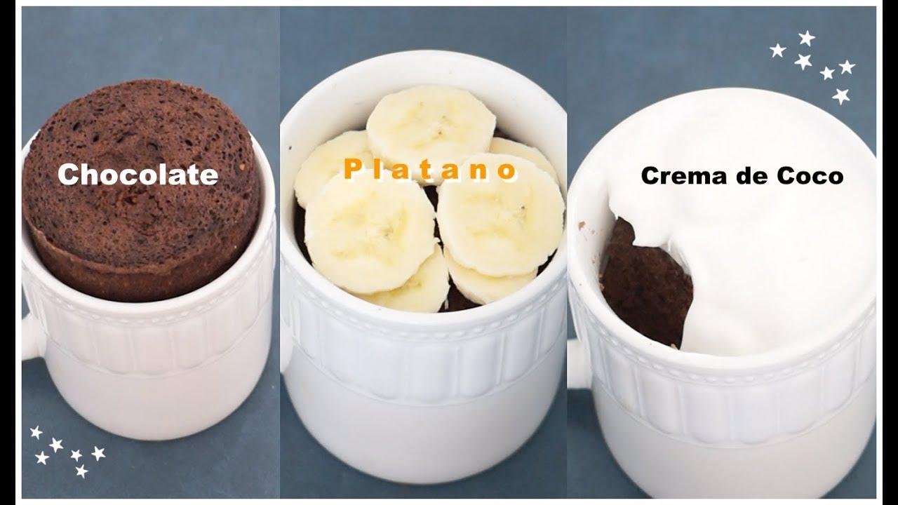 La Mejor Receta Sin Gluten Mug Cake De Chocolate Saludable Pan En Taza