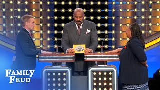 I want a woman with a really BIG... | Family Feud