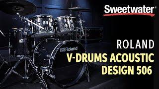 Baixar Roland V-Drums Acoustic Design VAD506 Electronic Drum Set Demo