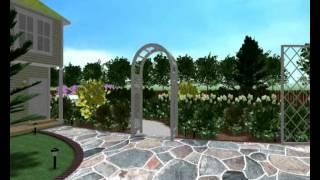 видео Бассейны в ландшафтном дизайне