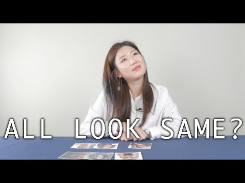 Korean try to tell Westerner apart