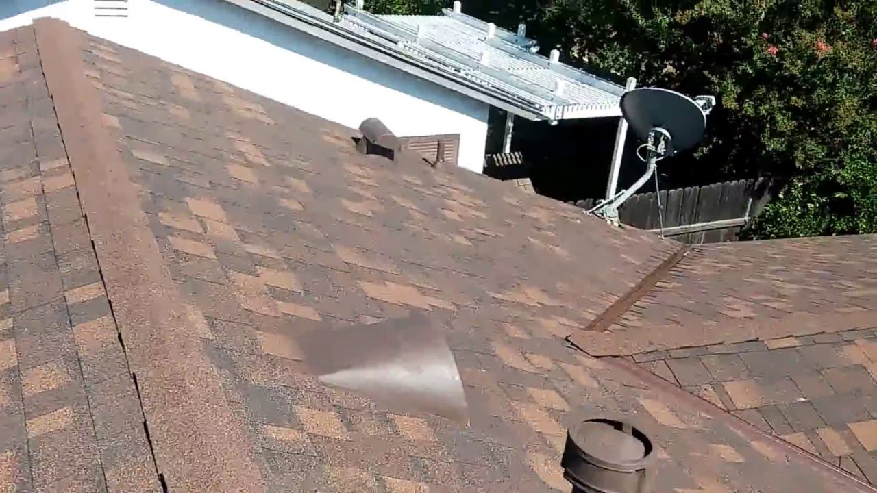 Owens Corning Oakridge Brown Wood Shingles Youtube