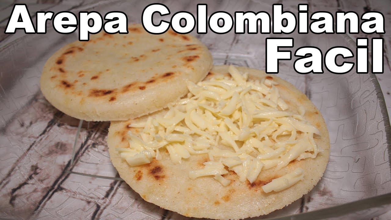 como se preparan las arepas colombianas