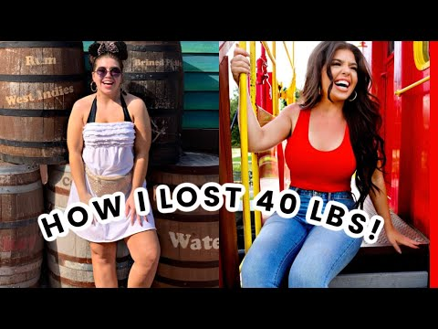 HOW I LOST 40 POUNDS | My Weight Loss Journey | Losing Weight Hacks Without Exercise