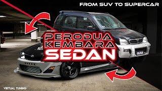 Perodua Kembara Sedan?  Sport Car? |  Virtual Tuning