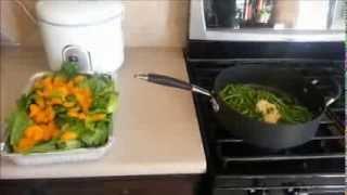 How To Make Mandarin Almond Salad Recipe & Garlic Greenbeans Stir Fry