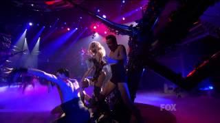 Lady Gaga Alejandro mic feed live @ American Idol 2010