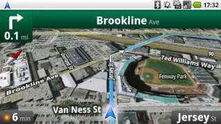 Google Maps Navigation (Beta)