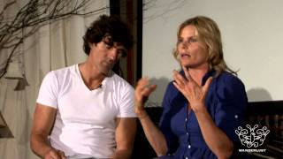 Mariel Hemingway and Bobby Williams at Wanderlust Festival Speakeasy 2010