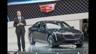 2018 CADILLAC INTRODUCES FIRST-EVER CT6 V-SPORT