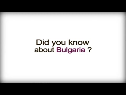 Did you know? - Bulgaria - Bulgarian Business Culture video