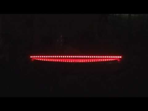 Knight Rider LED Scanner 7 Colours Light Bar + Remote Control