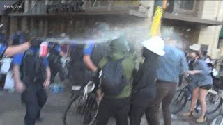 Protests in Downtown Austin, week after deadly shooting | KVUE
