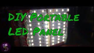 DIY LED panel: Repurposing a dead 9 Volt battery